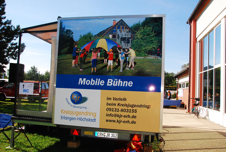 Mobile Bühne Seite