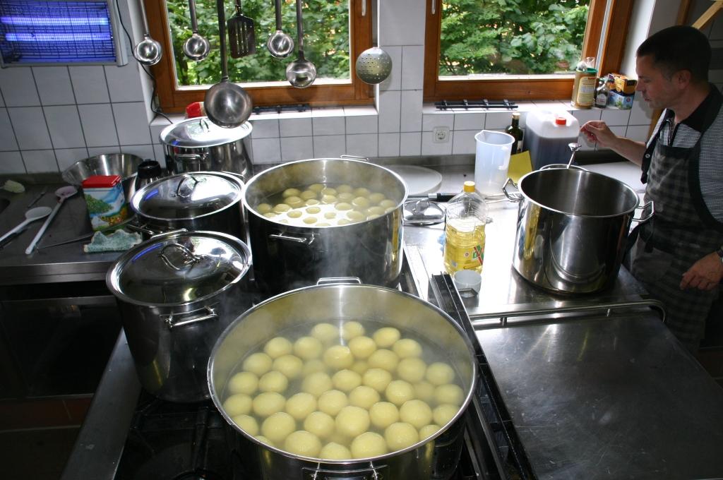 Kochen im Camp1