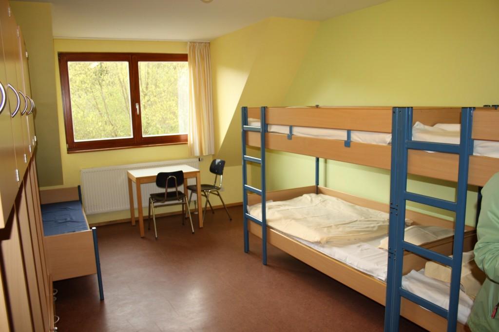 Schlafräume im Übernachtungshaus