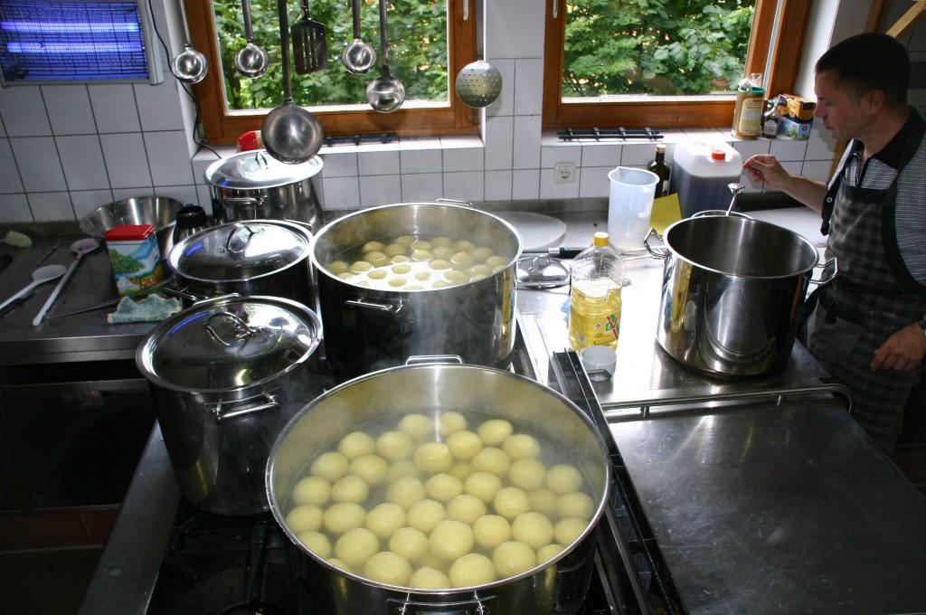 Kochen in der Großküche
