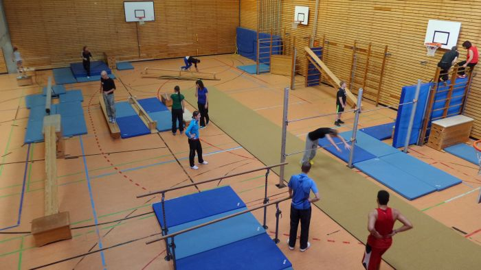 Le Parkour-Workshop