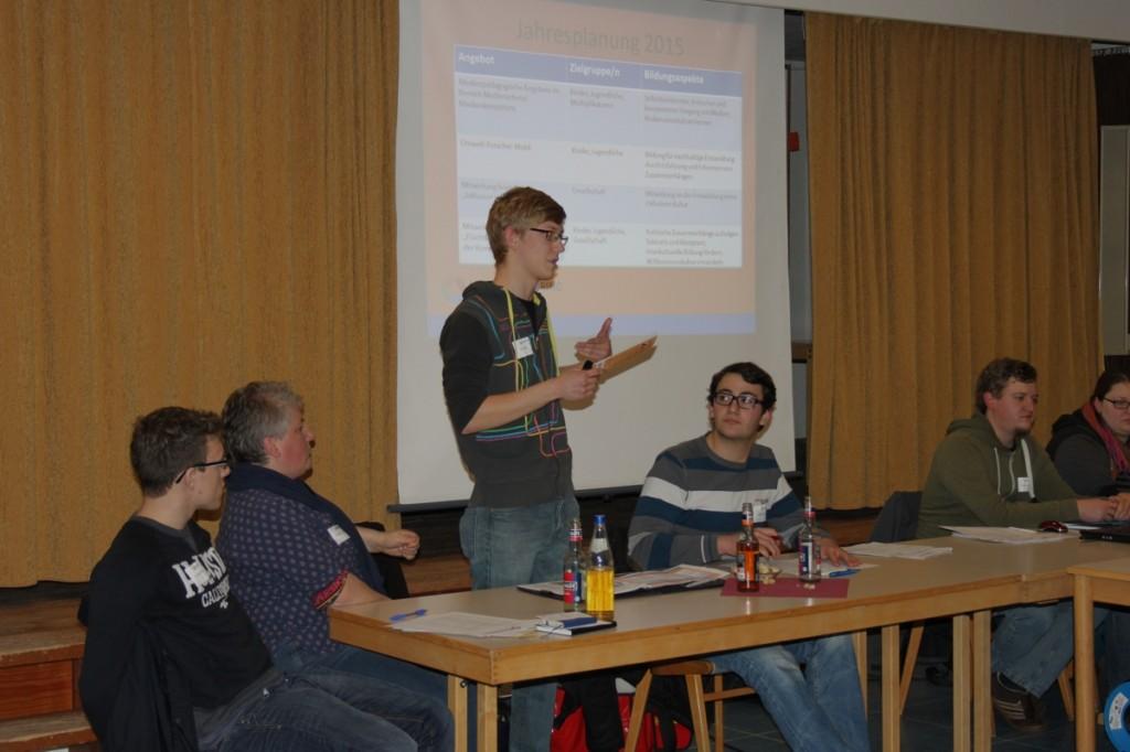 Herbstvollversammlung 2014 Jan Nittka