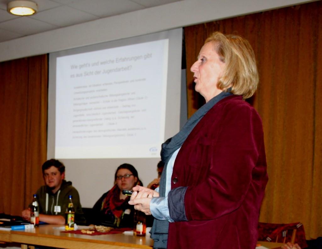 Herbstvollversammlung 2014 Martina Liebe