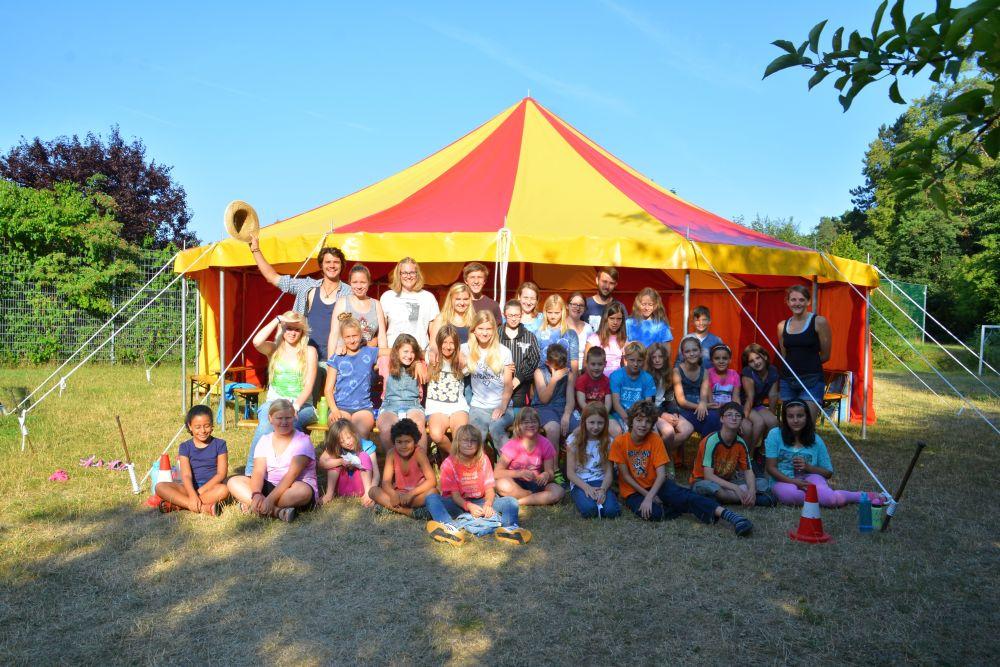 Zirkuscamp Kreisjugendring 2015 Gruppe_klein