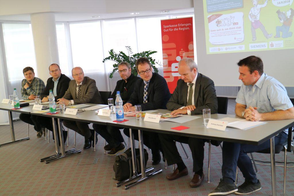 Veranstalter und Unterstützer stellen das 12. MiKIFI in Erlangen vor