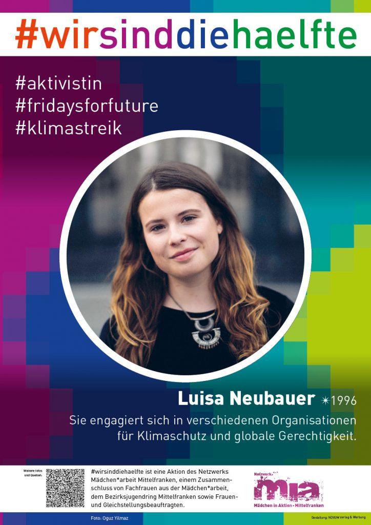Auf dem Bild ist Luisa Neubauer von Fridays For Future zu sehen